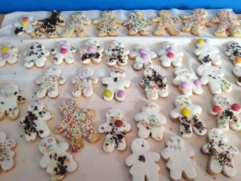 biscotti realizzati dai bambini