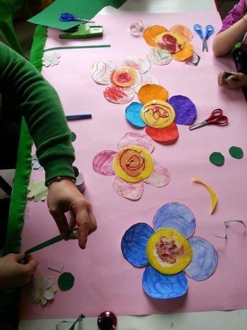 laboratorio creativo: pitture, ritaglio, ecc...