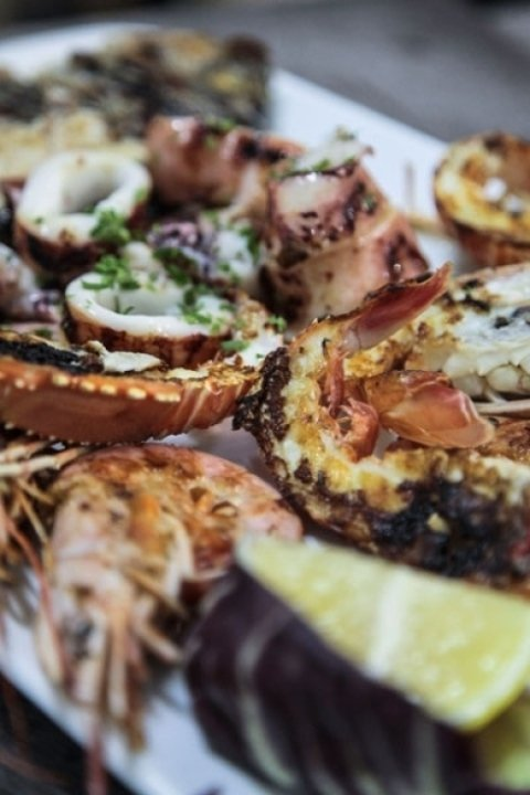 crostacei e frutti di mare