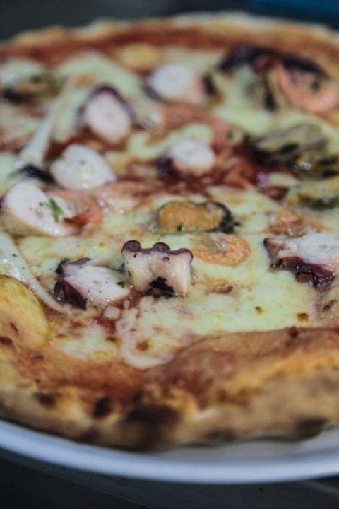 pizza soffice e croccante