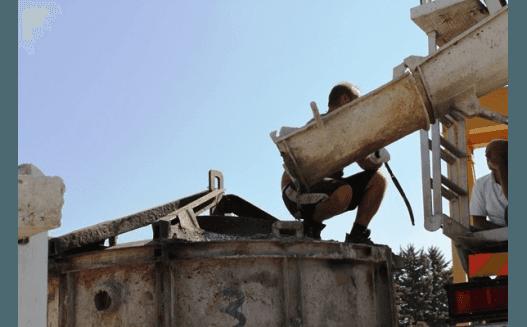 progettazione cisterna in cemento