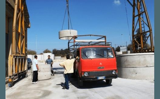 spostamento di manufatti edili