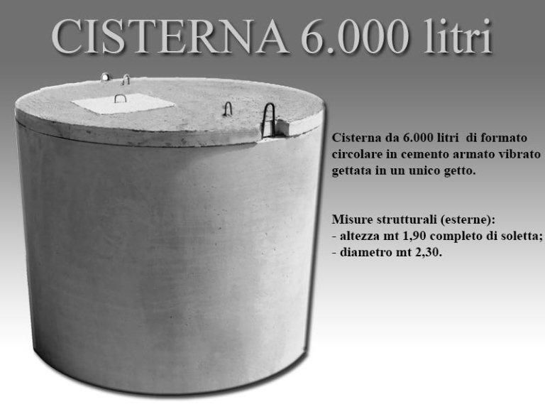 cisterna seimila litri