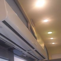 impianto di climatizzazione al muro