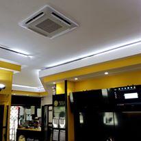 ventola del climatizzatore in un locale