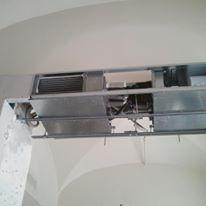 struttura per impianti di condizionamento