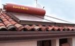 tetto con installato impianto fotovoltaico airsistem