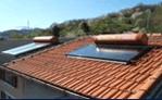tetto con impianto fotovoltaico