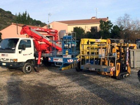 Noleggio e Vendita Mezzi e Macchine per l'Edilizia, Impresa Edile Lumia - Porto Azzurro (LI)