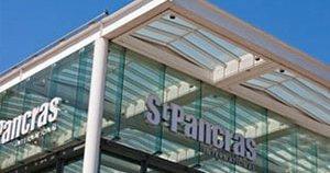 St Pancras transfer and Eurostar terminal