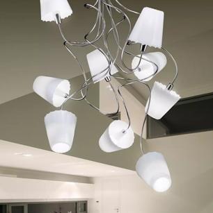 Lampadari e sospensioni