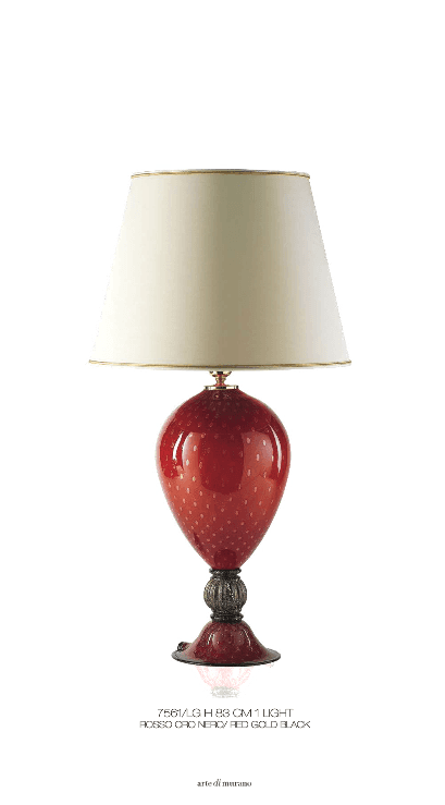 Lampada da tavolo Murano