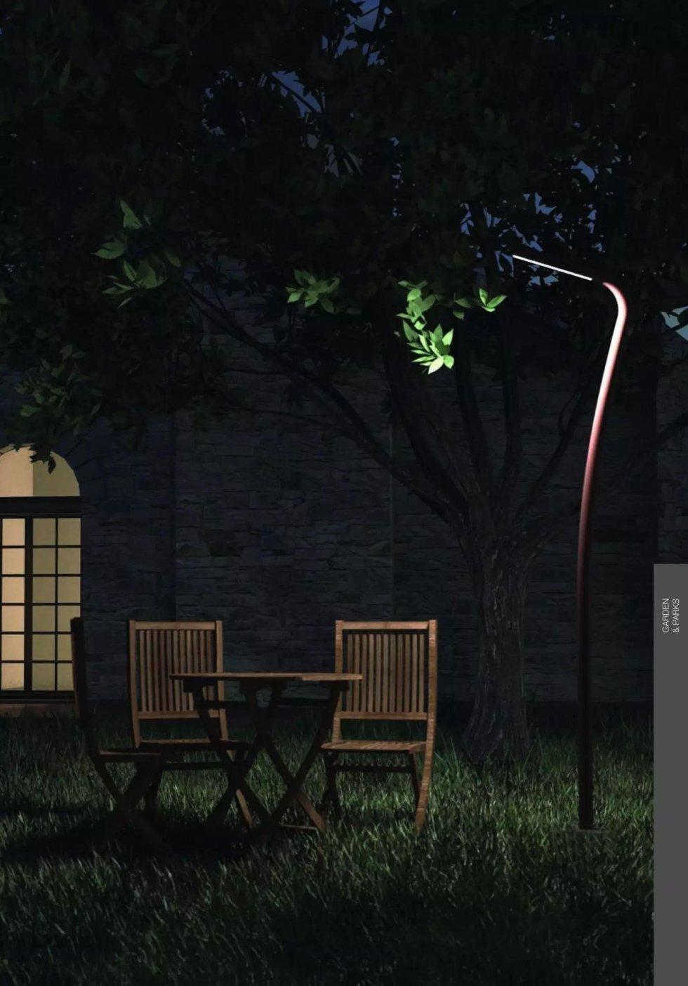 Lampada da esterno linealight alta