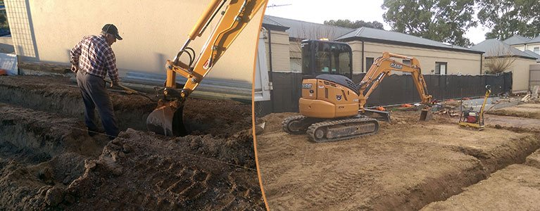 adelaide excavation services pty ltd footings
