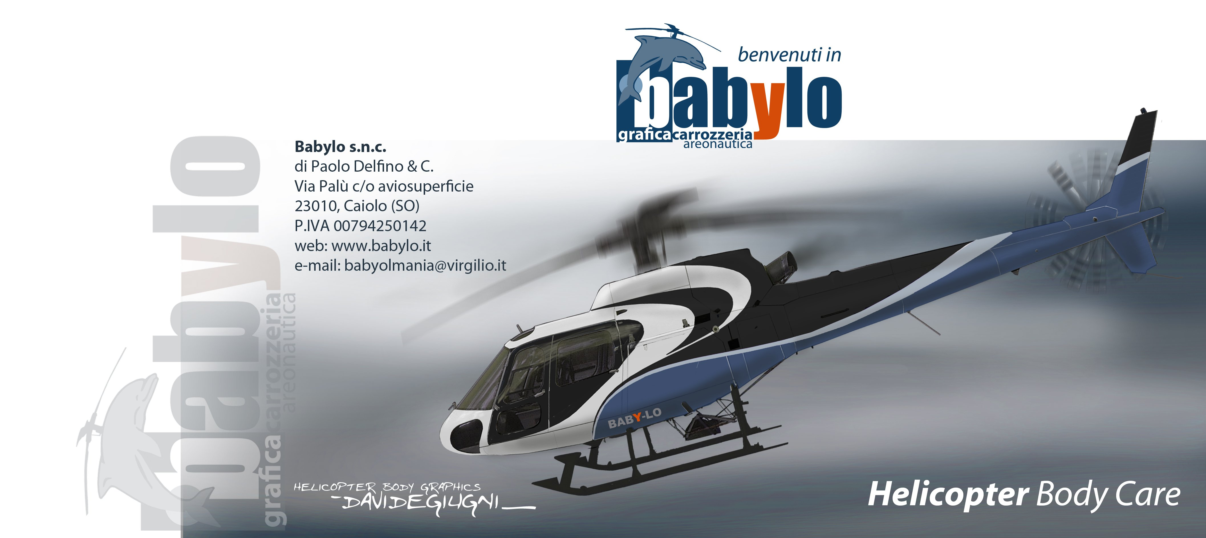 Helicopter Body care