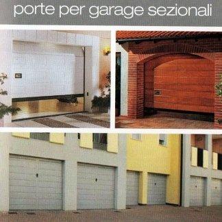porte per garage sezionali, produzione porte per garage, vendita porte per garage, basculanti
