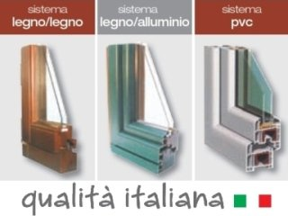 serramenti alluminio legno pvc