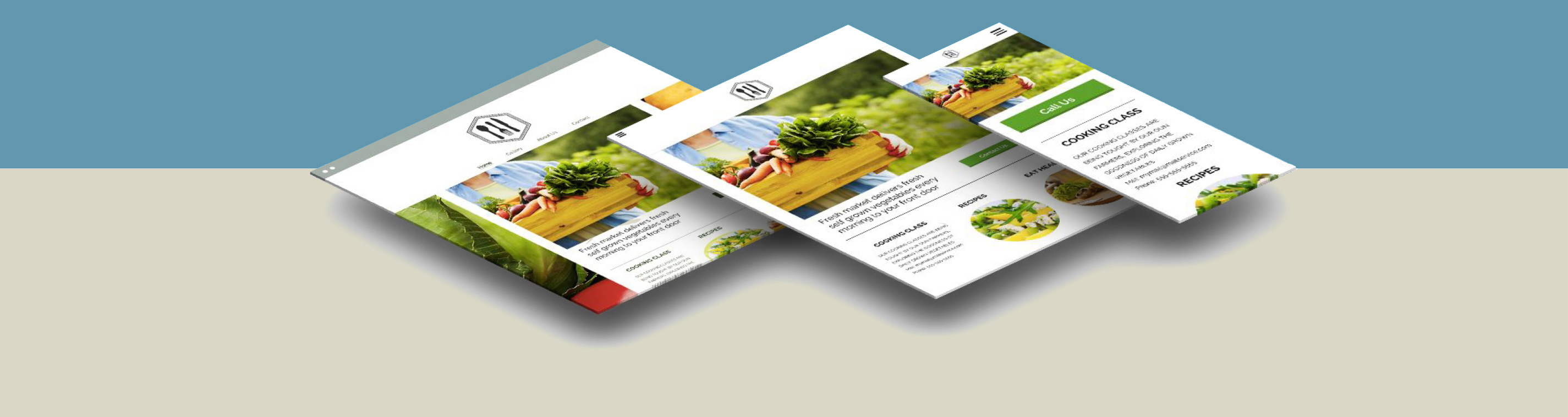 Vermont dynamic website design to fit desktop, tablet and mobile devices.