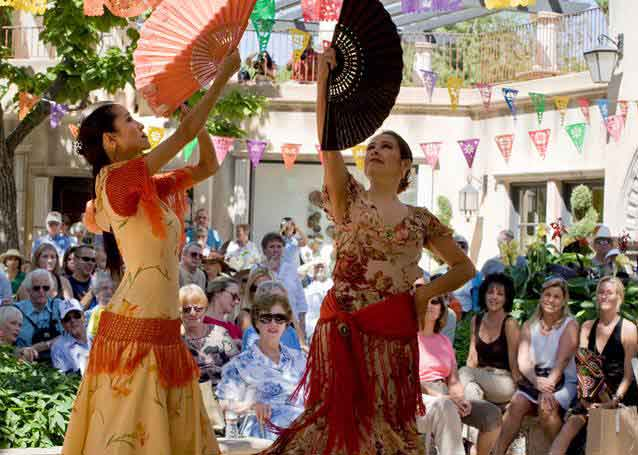 Amazing Mosaic Flamenco will perform from 11 a.m. to 2 p.m.