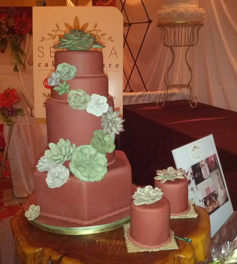 Andrea Displayed This Cake At The Sedona Bridal Show And Boot Camp That Was Held On January 17 2017 Hilton