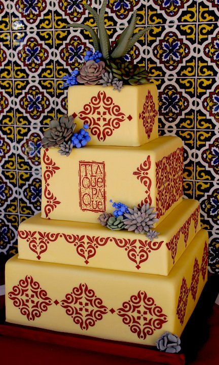 DESIGNER CAKE INSPIRED BY TLAQUEPAQUE