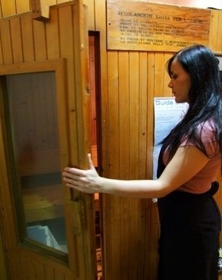Fangoterapia e sauna