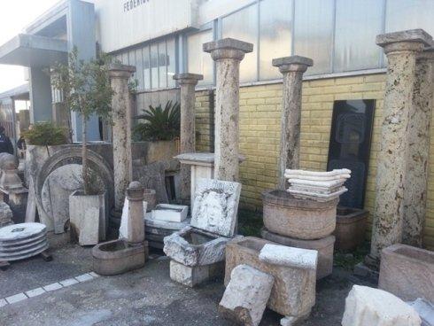 oggetti di marmo, marmi nazionali
