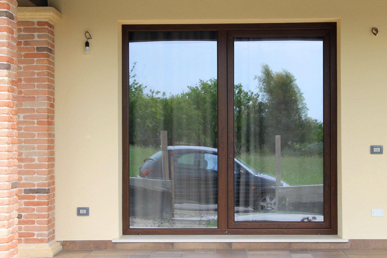 porta finestra scorrevole