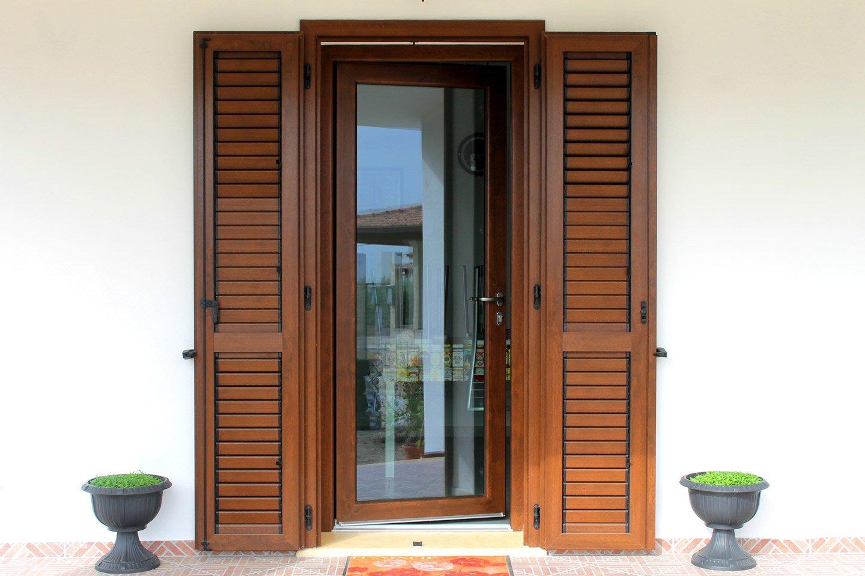 porta finestra scorrevole piu persiana