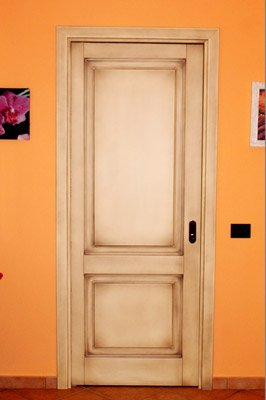 porta bianca vintage