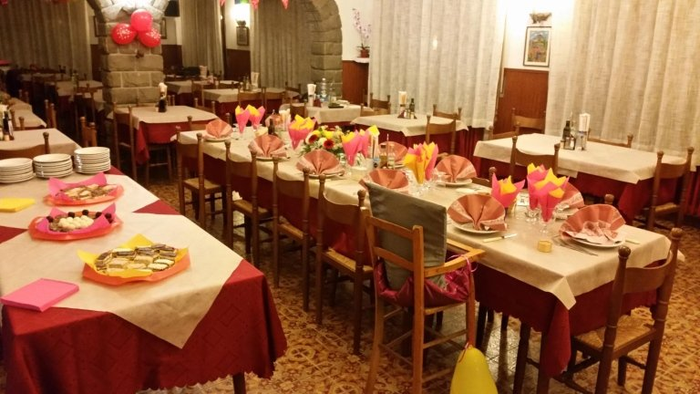 cena albergo Poli Monzuno