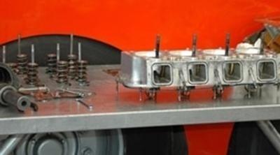 revisione di attrezzature meccaniche