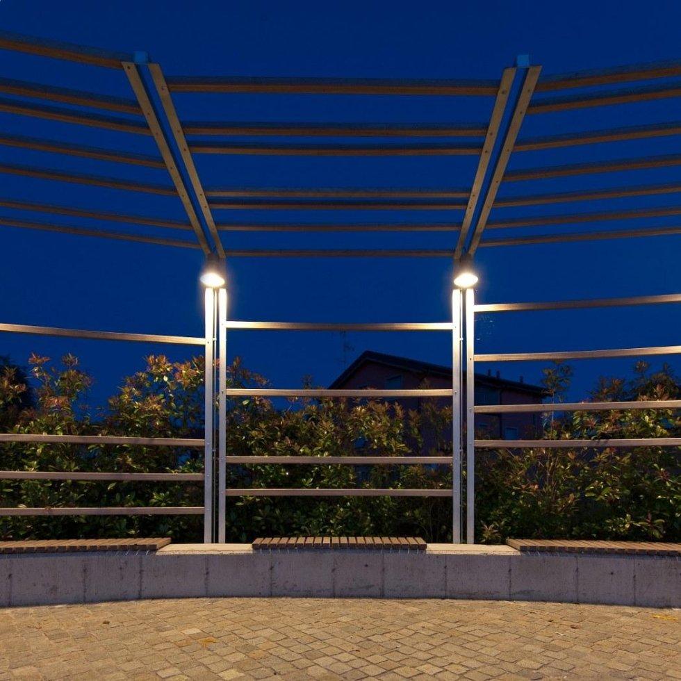 struttura metallica per piazza