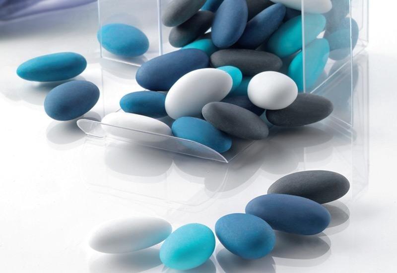 confetti sfumati azzurri La Spezia