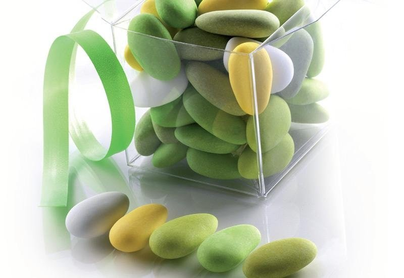confetti sfumati verdi La Spezia