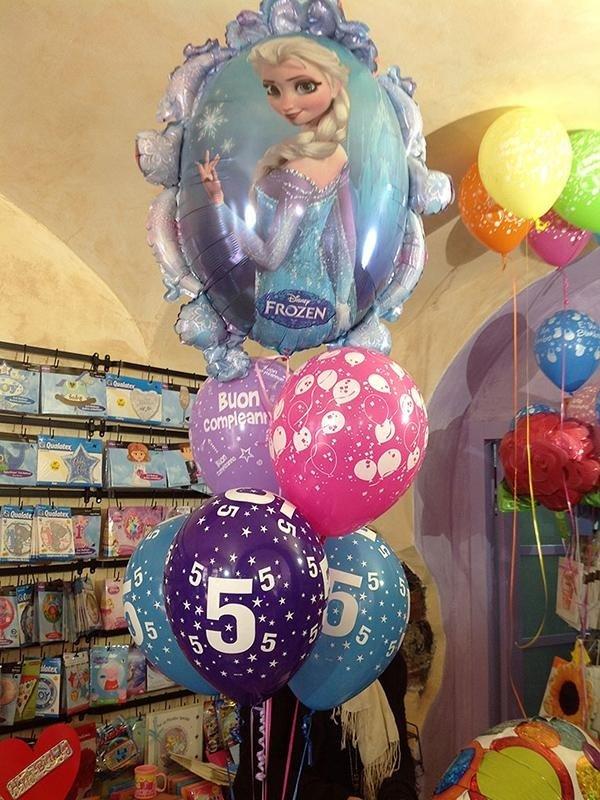 Palloncini per compleanno