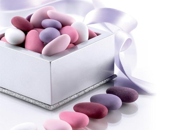 confetti sfumati rosa La Spezia