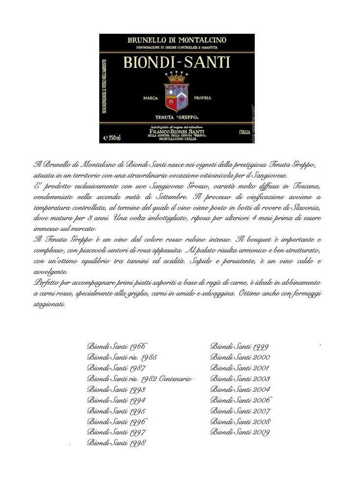 biondi santi rinaldi rome