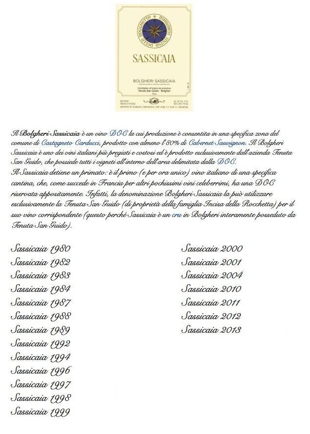 sassicaia rinaldi rome