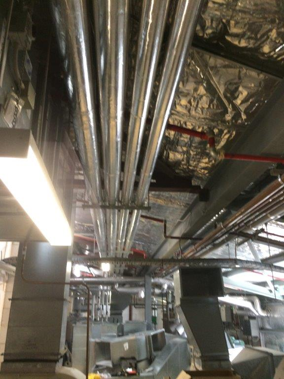 View of the plumbing work done by reliable professionals