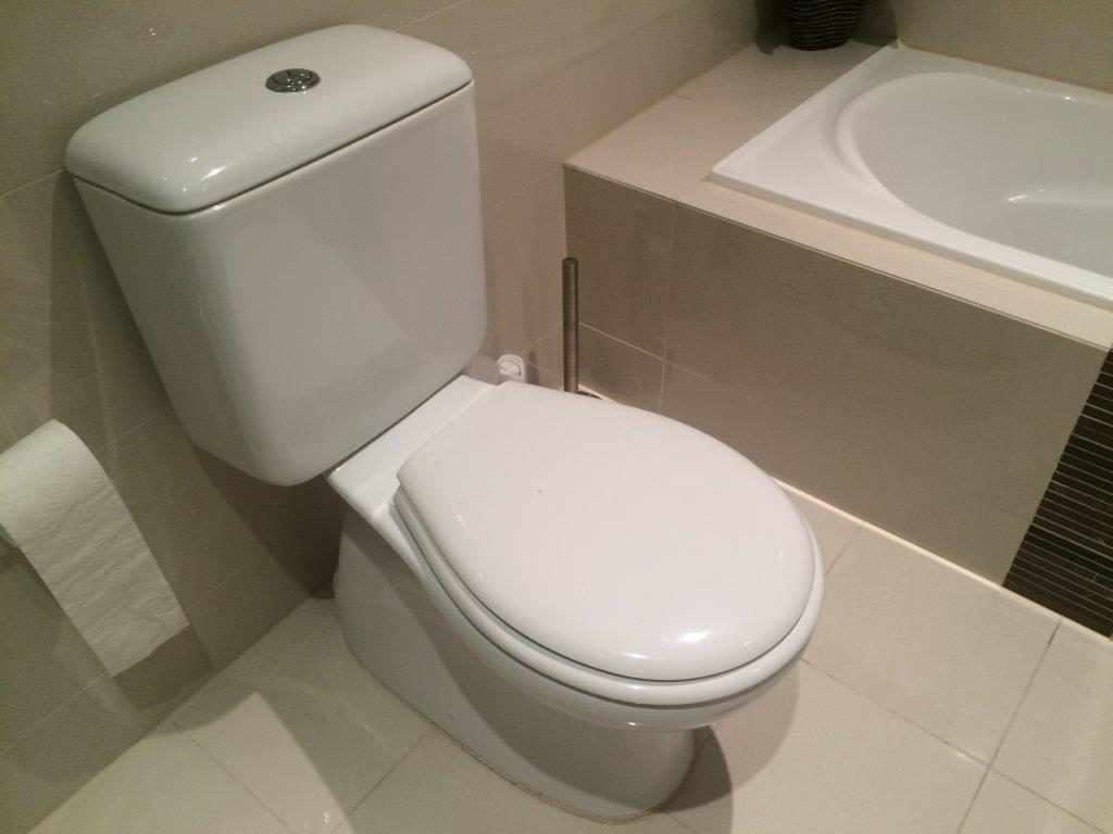 Plumbing work done for bathroom