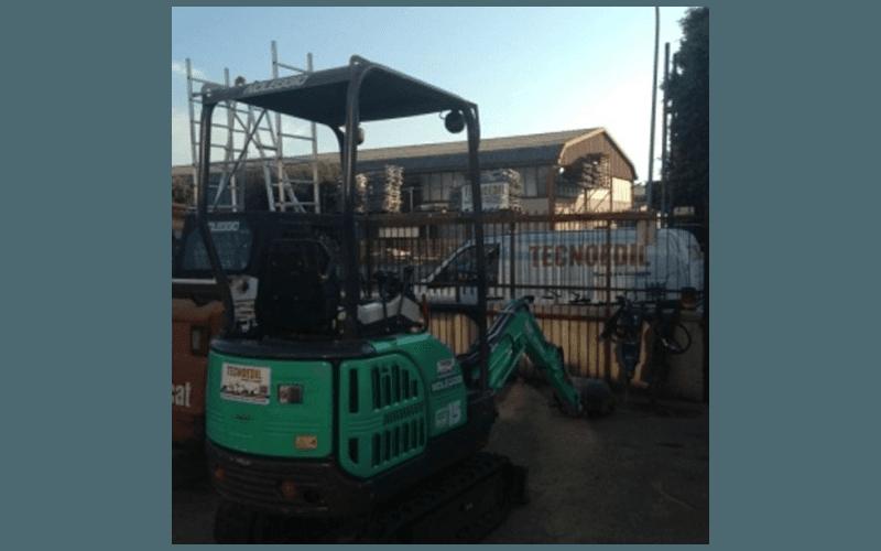 cingolato per lavori edili