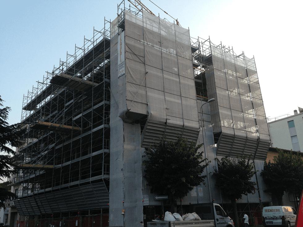 impalcatura facciata