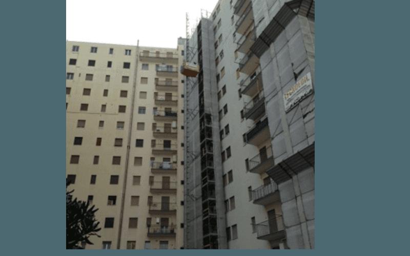 impalcatura per grattacielo