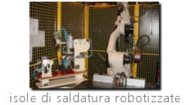 saldature computerizzate, saldature speciali, robot saldatori