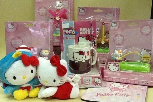 Articoli per la scuola Hello Kitty.