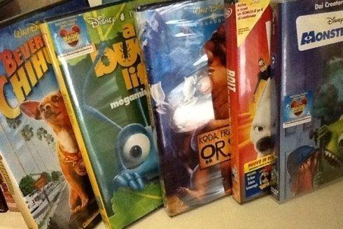 Vasta scelta di dvd.