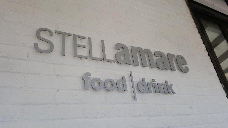 STELLamare food•drink - Caorle Insegna a lettere distanziata