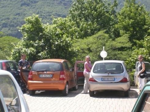 parcheggio casa di riposo