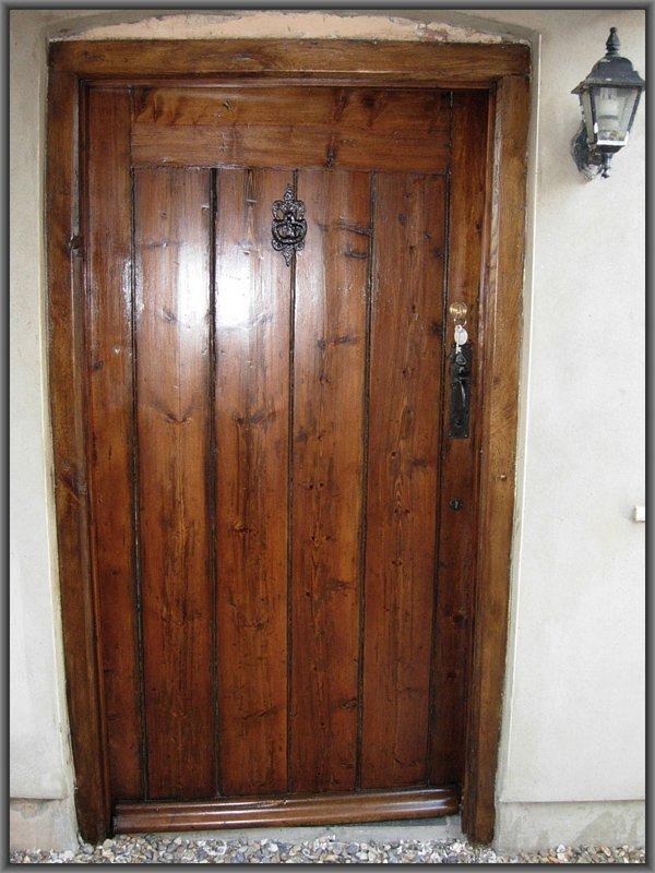 Restored Period Front Door